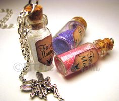 Hey, I found this really awesome Etsy listing at https://www.etsy.com/listing/108737268/fairy-magic-glass-bottle-cork-necklace