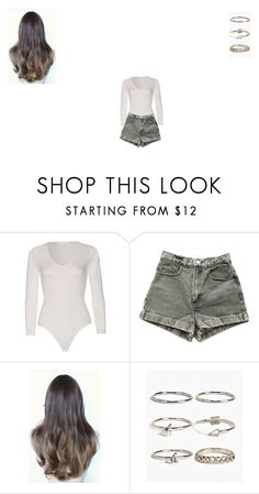"""Untitled #349"" by monroden on Polyvore featuring American Apparel and Boohoo"