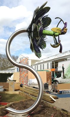 Stainless steel tube/pipe bending for Chelsea Flower Show @ www.barnshaws.com