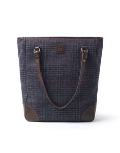 Women's Cheltenham Tote Bag in Tweed from Crew Clothing