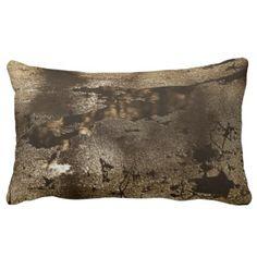 Sepia Tone Nature Abstract Photography Art Lumbar Pillow - diy cyo personalize design idea new special custom