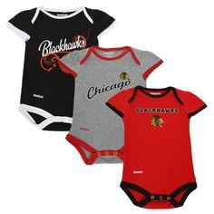 NHL Reebok Chicago Blackhawks Newborn Girls Little « Clothing Impulse