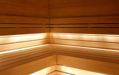 Galleria « Helo – Saunat, Lauteet, Kiukaat, Lasiseinät, Valaistus, Oheistarvikkeet Sauna Lights, Sauna Ideas, Saunas, Blinds, Stairs, Bath, Lighting, Stairway, Bathing
