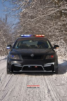 Stance Police Skoda Octavia