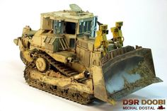 Meng 1:35 scale model D9R by Michal Dostal.