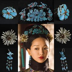 Traditional Hairstyle, Traditional Outfits, Chinese Culture, Chinese Art, Asian Hair Ornaments, Chinese Patterns, Vintage Hair Combs, Hair Decorations, Beautiful Costumes