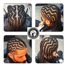 designer hair braids - click now to see more. Cornrow Braid Styles, Braid Styles For Men, Twist Braids, Hair And Beard Styles, Plaits, Cornrow Hairstyles For Men, My Hairstyle, Cornrows Men, Braids For Medium Length Hair