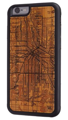 Minneapolis Streetcar Map - Case for iPhone 7 & 7 Plus