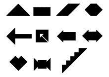 legespiel tangram vorlagen ausdrucken ausschneiden | legespiele, spiele selber machen, spiele