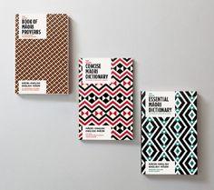 Penguin Books - Maori Dictionary Redesign by Marx Book Design Layout, Book Cover Design, Penguin Books Uk, Maori Patterns, Maori Designs, Nz Art, Buch Design, Arabic Pattern, Maori Art