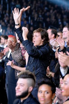 Let's relive that glorious Paul McCartney moment at the Grammys - in GIFs.
