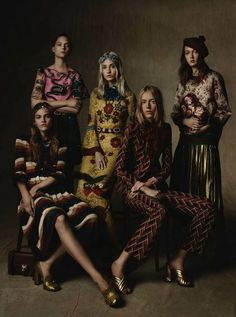 """Reset"" Gucci Resort 2016 photographed for Vogue Germany November 2015"