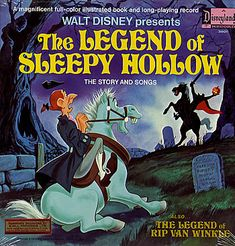 "Disney's adaptation of ""The Legend of Sleepy Hollow"" 1949 narrated by Bing Crosby"