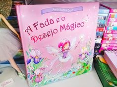 """Livro """"A Fada e o Desejo Mágico"""". Confira a resenha em: http://www.anjosnet.com.br/livro-a-fada-e-o-desejo-magico/  #fadas #fada #livro #livros"""