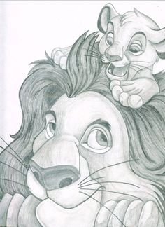 The lion king by lucyannshaw on deviantart disney pencil drawings, animal drawings, disney sketches Disney Drawings Sketches, Cute Disney Drawings, Cartoon Drawings, Animal Drawings, Cute Drawings, Drawing Sketches, Pencil Art Drawings, Drawing Disney, Drawing Ideas