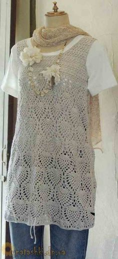 Summer Crochet Tunic