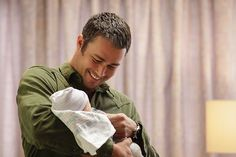#ChicagoFire / NBC / Taylor Kinney / Kelly Severide  Just when you thought Severide couldn't get any hotter, you see him holding a baby! Watch last night's Chicago Fire episode to see all the action.