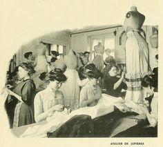Les Createurs de La Mode 1910 - 69 - Atelier de Jupieres
