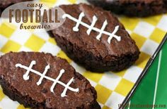 Tallahatchie Designs Sharing Football Brownie recipe