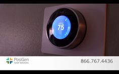 The smart Thermostat. #morethansolar