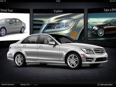 Mercedes-Benz iPad App - Clickable Demo