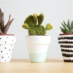 Do It Yourself: Painted Pots inspiration