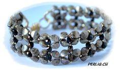 Pinch Bead - perlig.ch für kreative macherinnen   FREE download tute for bracelet