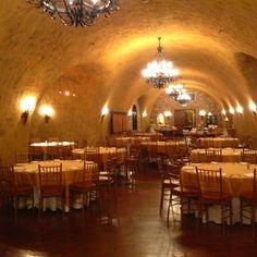 Meritage napa resort wine cave