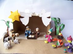 Nativity - someday I want to make one of these