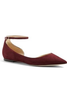 Jimmy Choo 'Lucy' Half d'Orsay Flat (Women) available at #Nordstrom