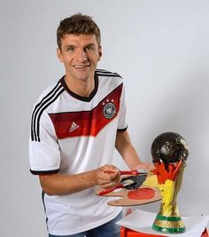 """""""Thomas Müller has had a hand in 9 goals in 5 Group C games for Germany (5 goals, 4 assists). World…"""""""