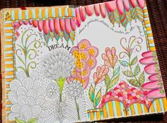 Illustrated journal. Beautiful colors