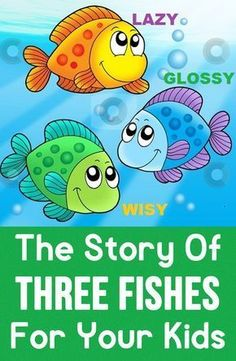 Story telling is one of the ways to develop good habits in kids. Here is the three fishes story with a moral that lets you know the importance of story telling. English Story Telling, English Moral Stories, Short Moral Stories, English Stories For Kids, Moral Stories For Kids, Short Stories For Kids, Kids English, Kids Story Books, Kids Story With Moral