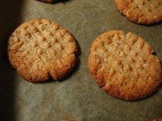 Bem bons: Cookies de Manteiga de Amendoim (Sem Farinha)