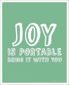 Spread joy to others today!