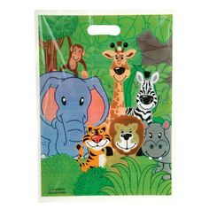 Zoo Animal Goody Bag (Bulk Pack of 50 Bags) at theBIGzoo.com