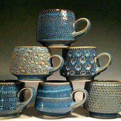 Pottery Mugs, Ceramic Pottery, Pottery Art, Slab Pottery, Thrown Pottery, Clay Mugs, Ceramic Clay, Ceramic Bowls, Pottery Classes