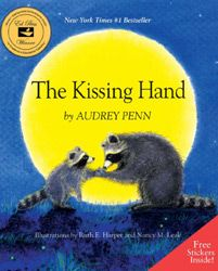 The Kissing Hand: one of the best books to read with your child before kindergarten I still kiss my children's hands and they are in first to high school age great way of saying bye while at school love it I miss them and they still miss me 1st Day Of School, Beginning Of The School Year, Starting School, School Starts, Daycare School, High School, Online Stories, Books Online, The Kissing Hand Book