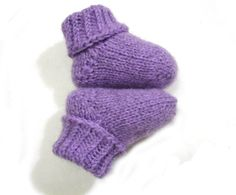 Purple love by Gaburiné Beáta on Etsy Slipper Socks, Slippers, Purple Love, Colorful Socks, Lavender Color, Baby Socks, Baby Booties, Little Gifts, Madness
