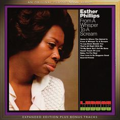 Esther Phillips - From A Whisper To A Scream on Import LP from Pure Pleasure Allen Toussaint, Gil Scott Heron, Blues, Vinyl Record Collection, Sounds Good To Me, Jazz Artists, Tabu, Aretha Franklin, Whisper