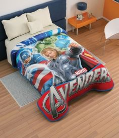 Teen boy bedding sets superheroes inspired sheets for those who are children at heart. In this teen bedding boy ideas can make your kids inspired Marvel Boys Bedroom, Boys Nautical Bedroom, Boy Sports Bedroom, Kids Bedroom, Kids Rooms, Avengers Bedding, Avengers Room, Marvel Avengers, Teen Boy Bedding Sets