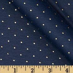 Jewel Jersey Knit Navy