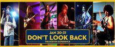 Don't Look Back-Tribute To Boston   Friday, January 30, 2015 7:30pm and Saturday, January 31, 2015 7:30pm   The Showroom At Casino Arizona, Scottsdale, AZ
