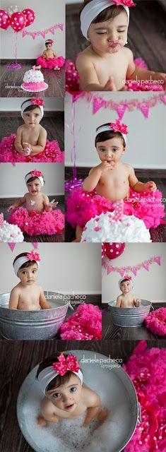 Fotografia de bebés  *  Explosión de color  Smash the cake  *  fotos de bebés México