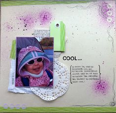 "Scrapbooking Layout ""Cool..."""