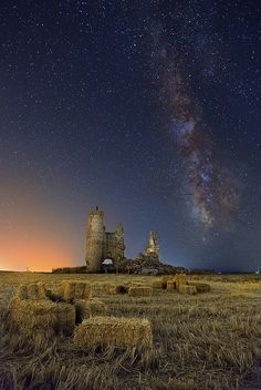 Summer Night in Toledo, Castile-La Mancha, Spain