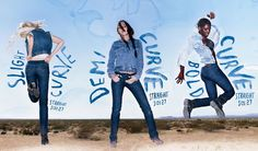 reginafaith: LEVIS' New Curve ID Jeans! + Take Curve Quiz!
