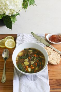 View entire slideshow: Soup, Stew and Chili Oh My on http://www.stylemepretty.com/collection/756/