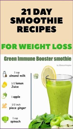 Weight Loss Smoothie Recipes, Green Smoothie Recipes, Weight Loss Drinks, Smoothie Diet, Healthy Weight Loss, Weight Loss Foods, Celery Smoothie, 10 Day Green Smoothie, Workout Smoothie