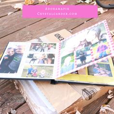 AdoramaPix Photo Book Review - Crystal Carder